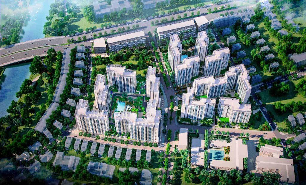 Phối cảnh tổng quan Akari City Bình Tân