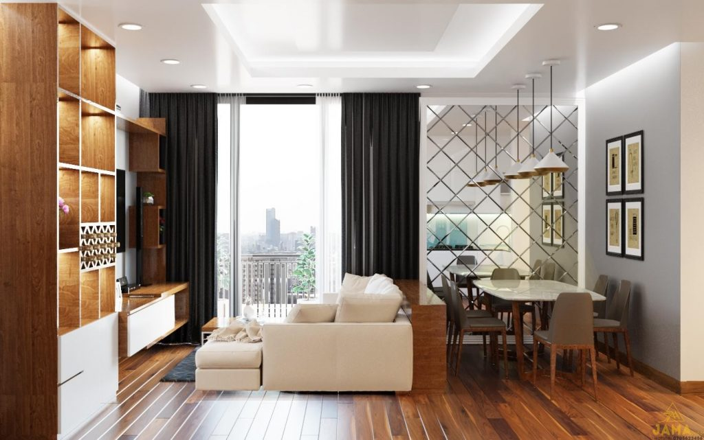 Không gian nội thất hợp phong thủy giúp gia tăng vượng khí, tài lộc cho gia chủ