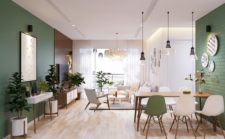 Thiết kế nội thất tối ưu không gian thoải mái và tiện nghi cho các gia đình
