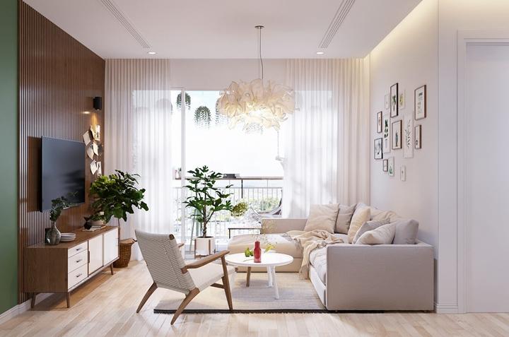 Tạo dựng dấu ấn riêng của các gia đình khi thiết kế nội thất chung cư