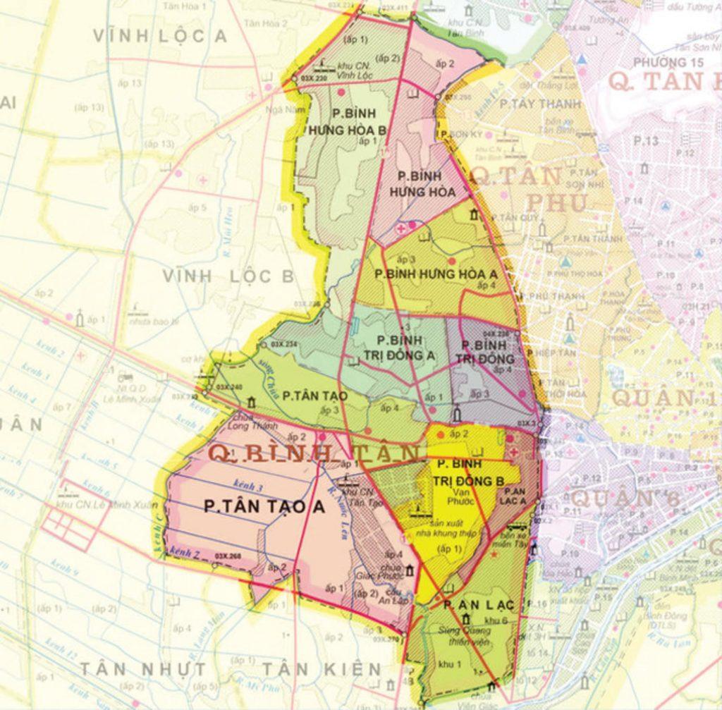Phát triển cơ sở hạ tầng căn hộ chung cư quận Bình Tân