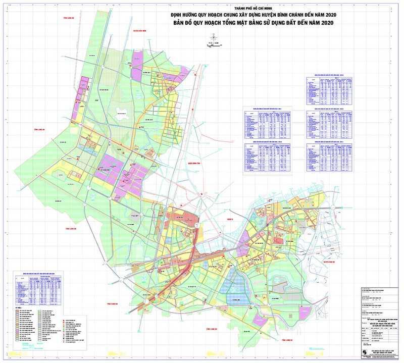 Vị trí địa lý đắc địa của huyện Bình Chánh