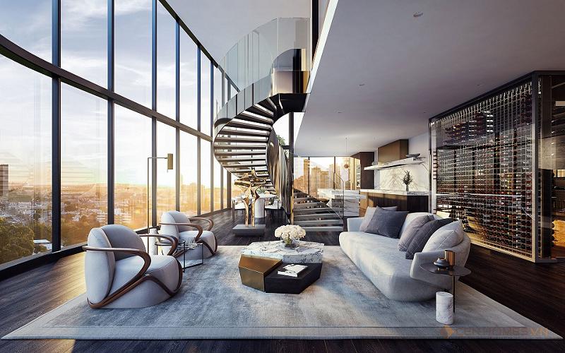 Penthouse chính là căn hộ nằm ở tầng trên cùng của một dự án chung cư