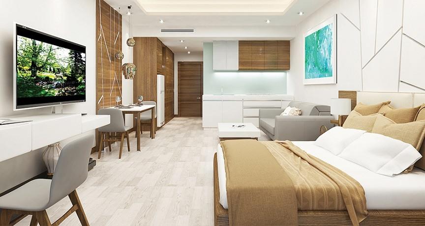 Căn hộ studio là loại căn hộ có diện tích nhỏ