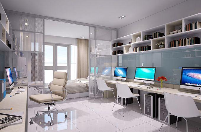 Căn hộ Officetel tích hợp vừa để ở vừa để sử dụng làm văn phòng
