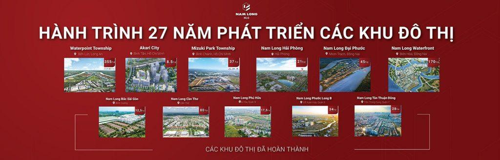 Chủ đầu tư nam long và những dự án căn hộ quận Bình Tân